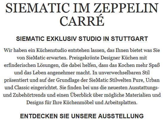 Einrichtungsplanung aus  Stammheim (Stuttgart)