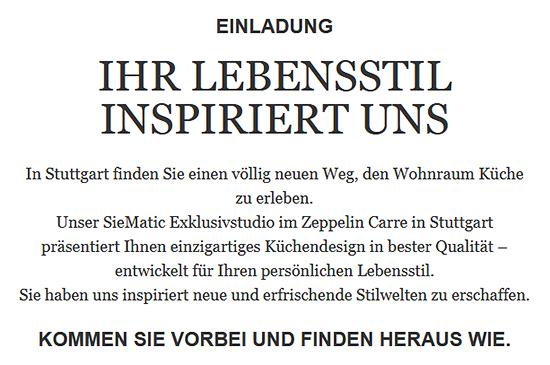 Möbel: Designküchen in  Monrepos (Ludwigsburg) -