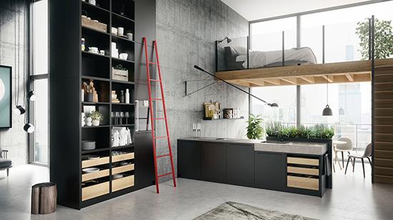 natürliche Küchenmöbel